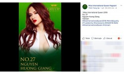 """Hương Giang Idol trở thành đại diện Việt Nam thi """"Hoa hậu chuyển giới Thế giới"""" tại Thái Lan?"""