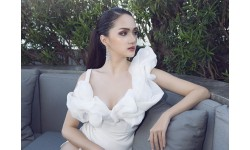Hương Giang Idol gầy hốc hác sau khi thành Hoa hậu chuyển giới