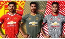 Lộ toàn bộ 3 mẫu áo đấu M.U mùa tới