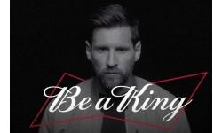 Budweiser x Lionel Messi   CHẤT VUA KHÔNG LÙI BƯỚC