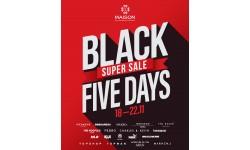 """MAISON BLACK FIVEDAYS - """"Siêu sale chạm đỉnh 50%++"""" với lễ hội mua sắm cuối năm"""