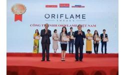 Oriflame Việt Nam tiếp tục nhận giải thưởng top 100 sản phẩm/ dịch vụ được tin dùng 2020