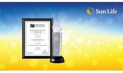 Sun Life Việt Nam nhận giải thưởng từ Tạp chí Tài chính Quốc Tế về chất lượng sản phẩm và dịch vụ