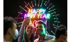 Thế giới rực rỡ pháo hoa rực rỡ đón năm mới 2021
