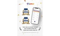 """Timo 2 năm liên tiếp nhận giải """"Ngân hàng kỹ thuật số tốt nhất Việt Nam"""" từ Asiamoney."""