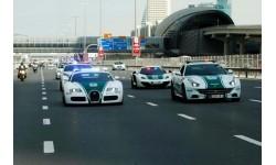 Choáng ngợp bộ sưu tập xe sang của cảnh sát xứ giàu có Dubai
