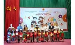 """Chương trình giáo dục cộng đồng """"Sinh Con, Sinh Cha"""" đầu tiên năm Tân Sửu tiếp cận hơn 300 phụ huynh và trẻ mầm non tỉnh Bắc Ninh"""