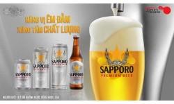 Sapporo Premium Beer - Nâng vị êm đằm, xứng tầm chất lượng