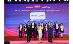 Oriflame – Một trong 50 doanh nghiệp FDI tiêu biểu của giải Rồng Vàng