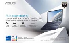 ASUS giới thiệu thế hệ mới của laptop Doanh nhân  ASUS ExpertBook B9 (B9400)