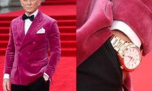 """Omega cùng Daniel Craig tại buổi ra mắt James Bond 007 """"No Time To Die"""" ở London"""